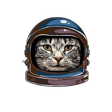 Astronaut Cat Choose Kindness Bully Awareness Tee by nohive