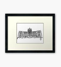 Providence College Harkins Hall Framed Print