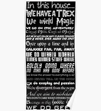We Do Geek Poster