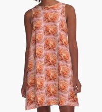 Roses, blushing so tenderly for you. A-Line Dress
