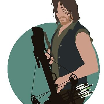 Daryl Dixon-The Walking Dead by Geraart