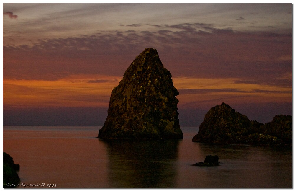 Rocks at dawn  by Andrea Rapisarda