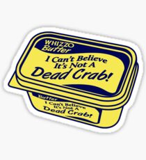 Whizzo Butter Sticker