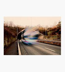 Speedy Bus Photographic Print