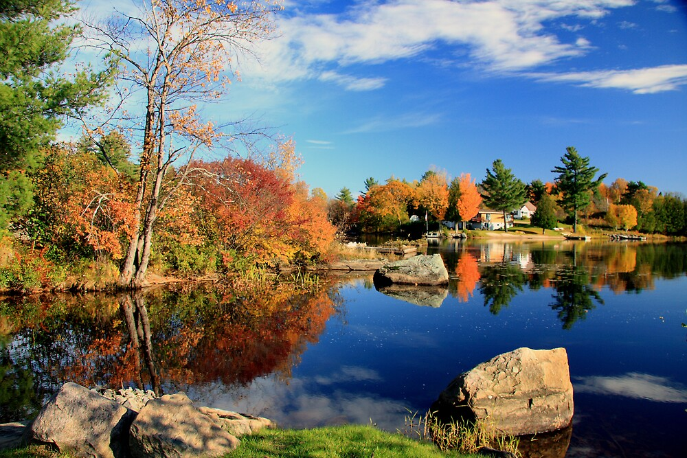 Magnetawan Blue by Dave Law