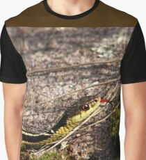 Forked Tongue Graphic T-Shirt