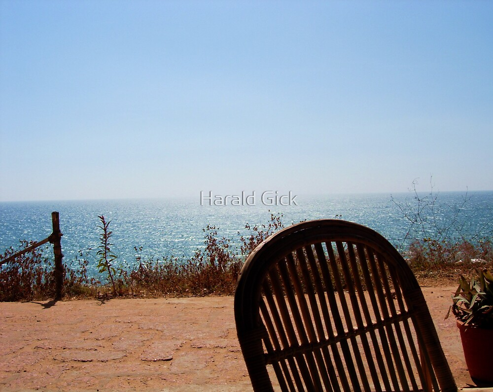 Coffee time in Varkala by Harald Gick