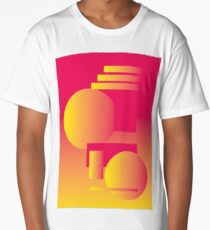 Graphic abstraction Long T-Shirt