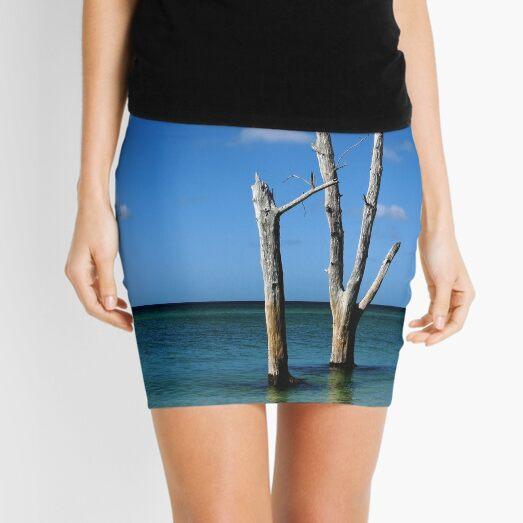 Stranded Mini Skirt