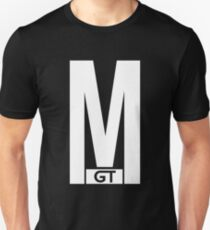 Mearsy GT MGT Logo White Unisex T-Shirt