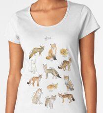 Foxes Premium Scoop T-Shirt