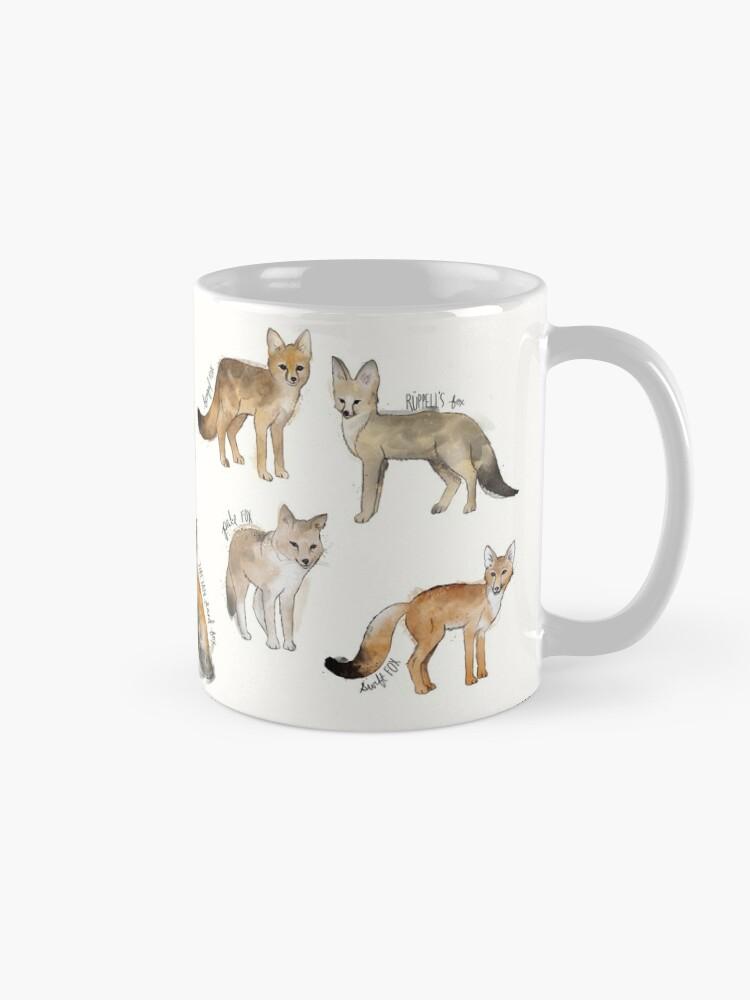 Alternate view of Foxes Mug