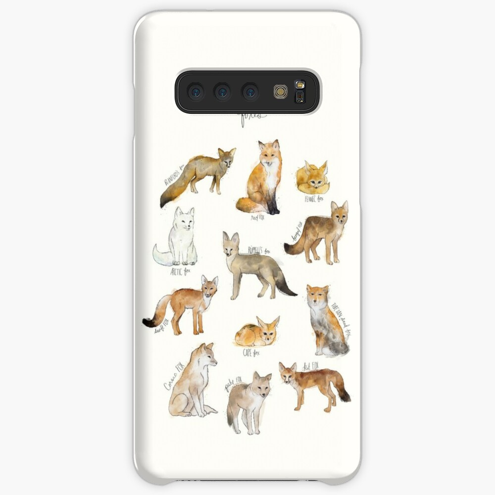 Foxes Case & Skin for Samsung Galaxy