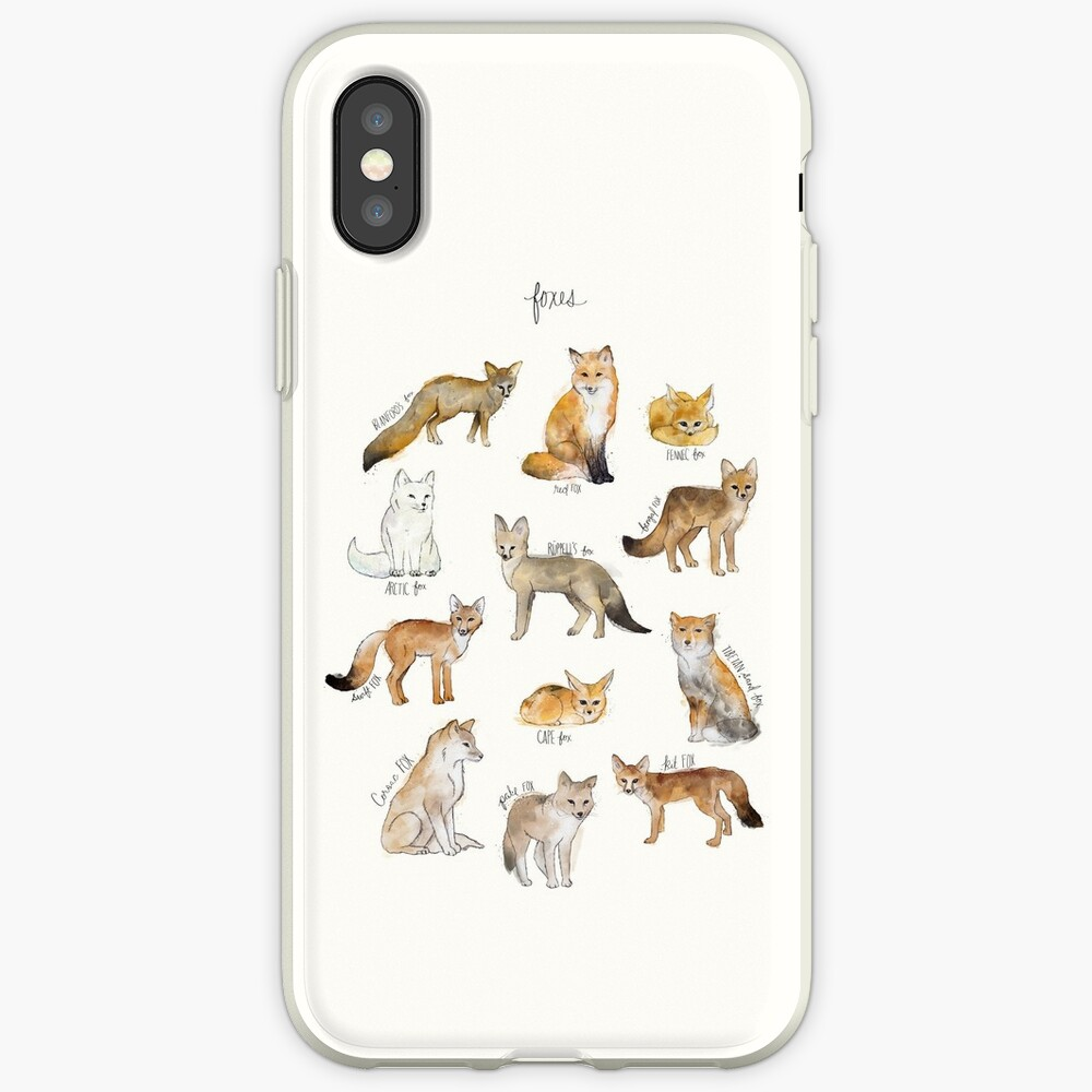 Foxes iPhone Case & Cover