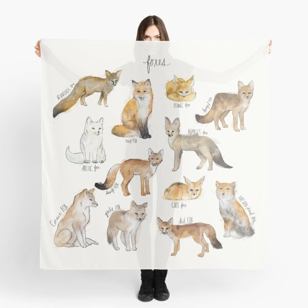 Foxes Scarf