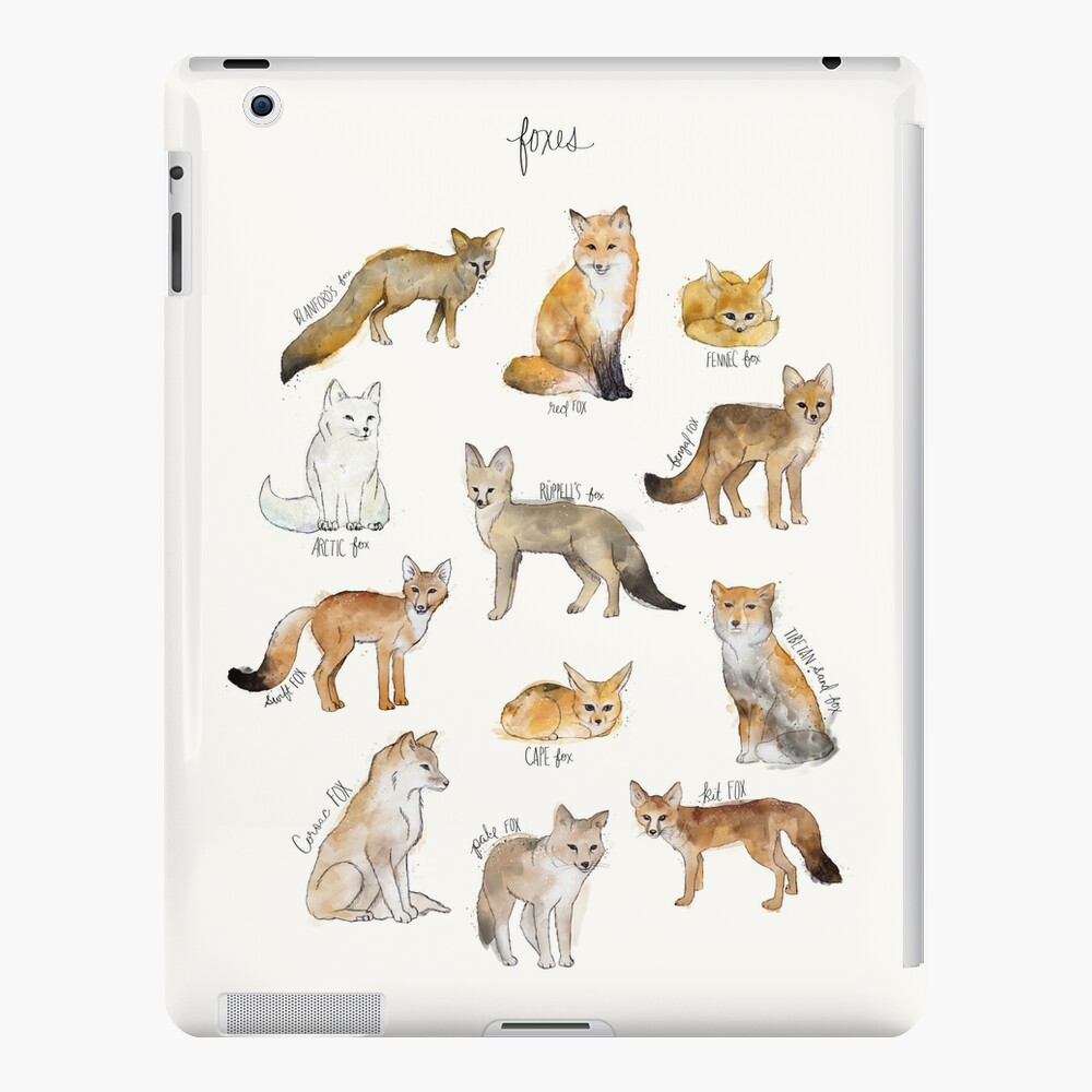 Foxes iPad Case & Skin