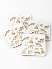 Foxes Coasters