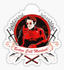 BETTER CALL MURDOCK Sticker