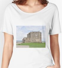 Blackness Castle ,( Fort George in Outlander )  Scotland Women's Relaxed Fit T-Shirt