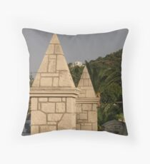 Pillars of the Community Throw Pillow