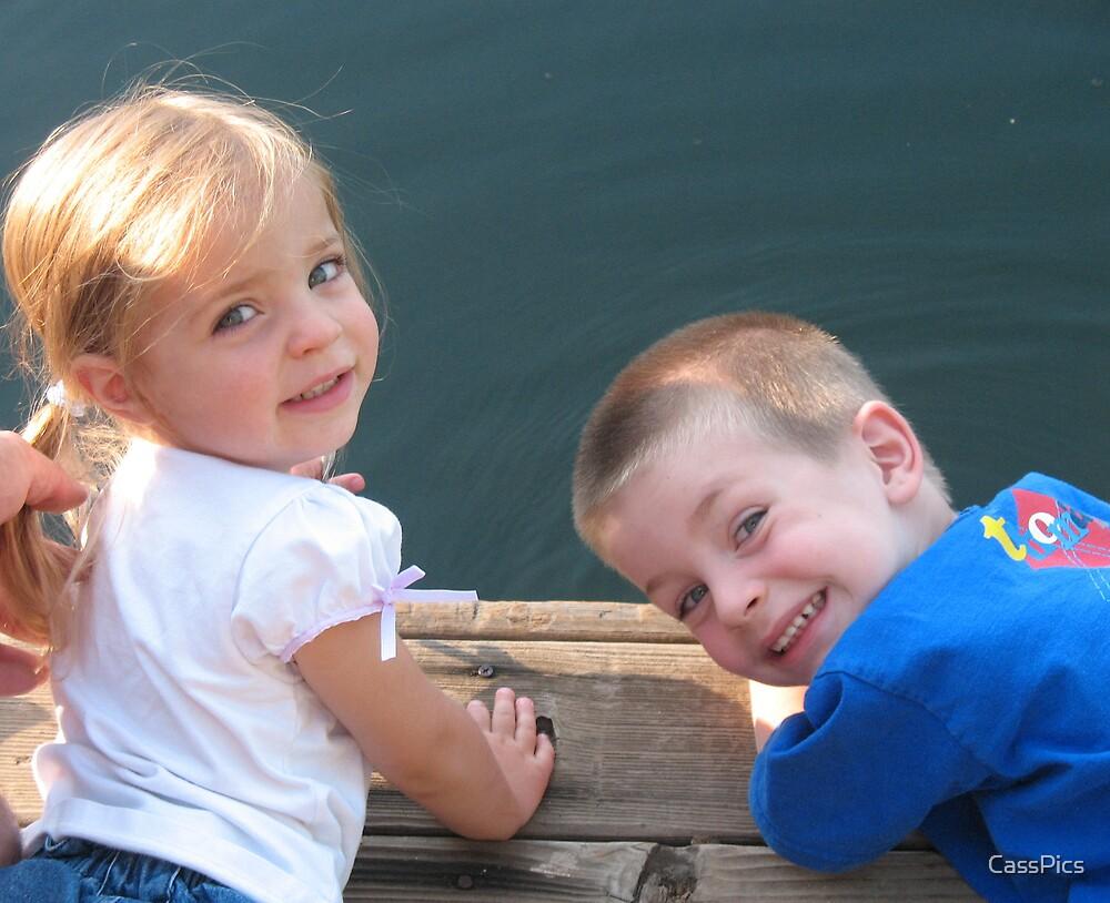 Sibling Summer Fun by CassPics