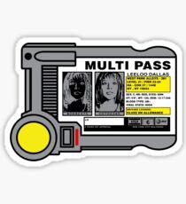 Miltipass Sticker