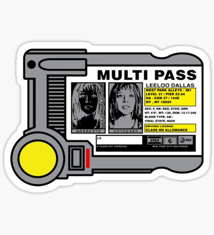 Miltipass Sticker