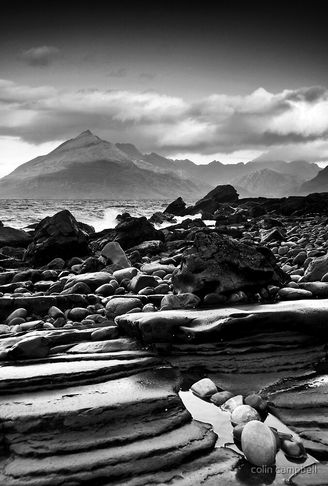 Black Cuillins by colin campbell