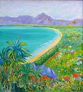 Four Mile Beach Port Douglas,North Queensland by Virginia McGowan