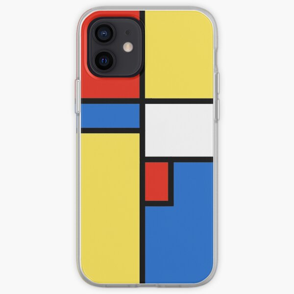 Colour Block iPhone Soft Case