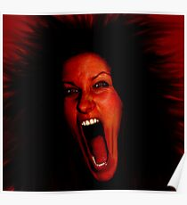 Deafening Scream Poster