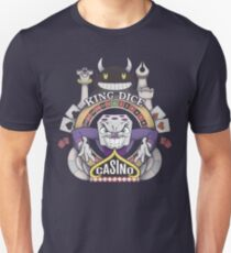 Cuphead King Dice Casino T-Shirt