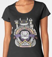 Cuphead King Dice Casino Women's Premium T-Shirt