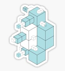 Isometric #1 Sticker