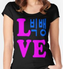 ♥♫Love BigBang Forever–Best K-Pop Group♪♥ Women's Fitted Scoop T-Shirt