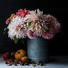 Autumn flowers & fruit by Cristina Colli