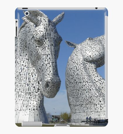 The Kelpies, Helix Park , Falkirk , Scotland iPad Case/Skin