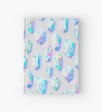 Iridescent Rainbow Crystals Hardcover Journal