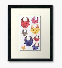 MY Demons Framed Print