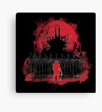 What a Horrible Night to Have a Curse Canvas Print
