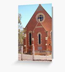 CHURCH AT TARNAGULLA Greeting Card