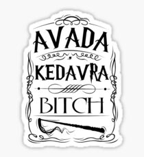 Avada Kedavra, Bitch Sticker