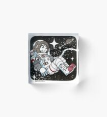 Astronaut Uraraka Acrylic Block