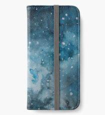 Milchstraße - Galaxy Haar Serie 4/4 iPhone Flip-Case/Hülle/Klebefolie