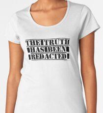 The Truth Has Been Redacted Women's Premium T-Shirt