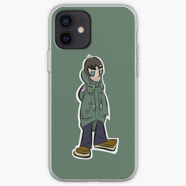 LG - Parka Monkees - Cartoon (Khaki Parka) iPhone Soft Case