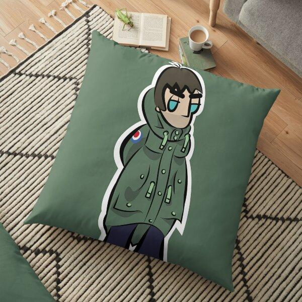 LG - Parka Monkees - Cartoon (Khaki Parka) Floor Pillow