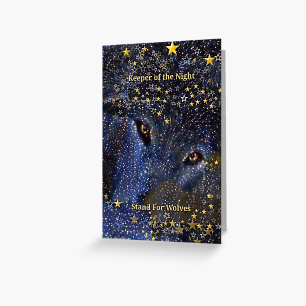Keeper of the Night/2 Greeting Card