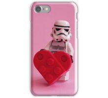 Trooper's Heart - Valentine, Birthday, Mother's Day Card iPhone Case/Skin