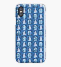 Dctor Who - Dalek & Tardis iPhone Case/Skin